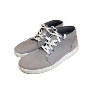Timberland Grey Bayham Canvas Chukka Sneakers